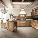 La cucina artigianale in legno