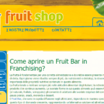 Fruit Bar in Franchising: come aprire il tuo