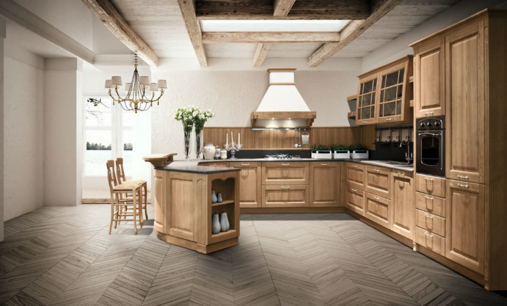 La cucina artigianale in legno - Aziende News