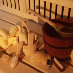 Accessori per fare la sauna