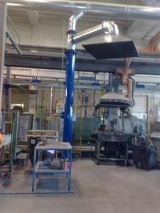 Impianti di aspirazione industriale LaPG