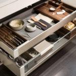 I cassetti della cucina? Fondamentali per ottimizzare gli spazi
