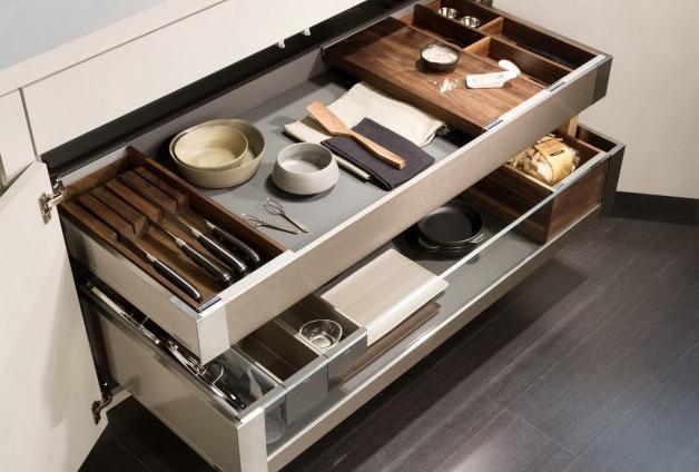 Cucine e cassetti snaidero garanzia di design e praticit - Divisori per cassetti cucina ...