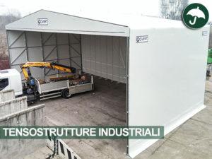 tensostrutture industriali in pvc