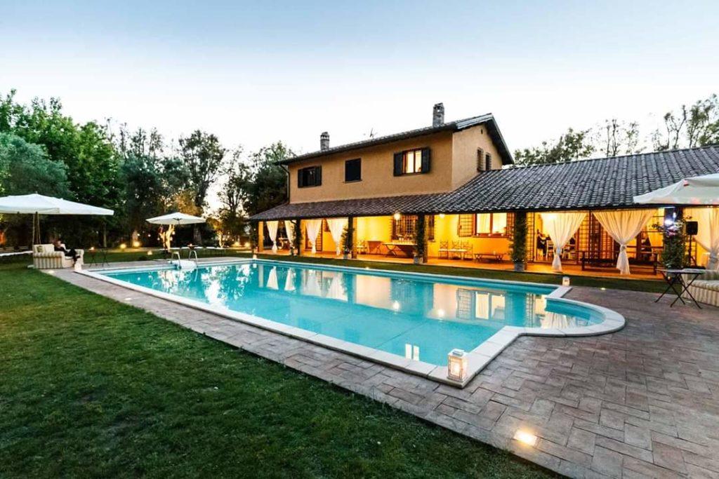 festa villa roma