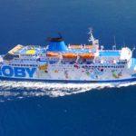Polizza Covid-19 in offerta sui traghetti Moby Spa e Tirrenia