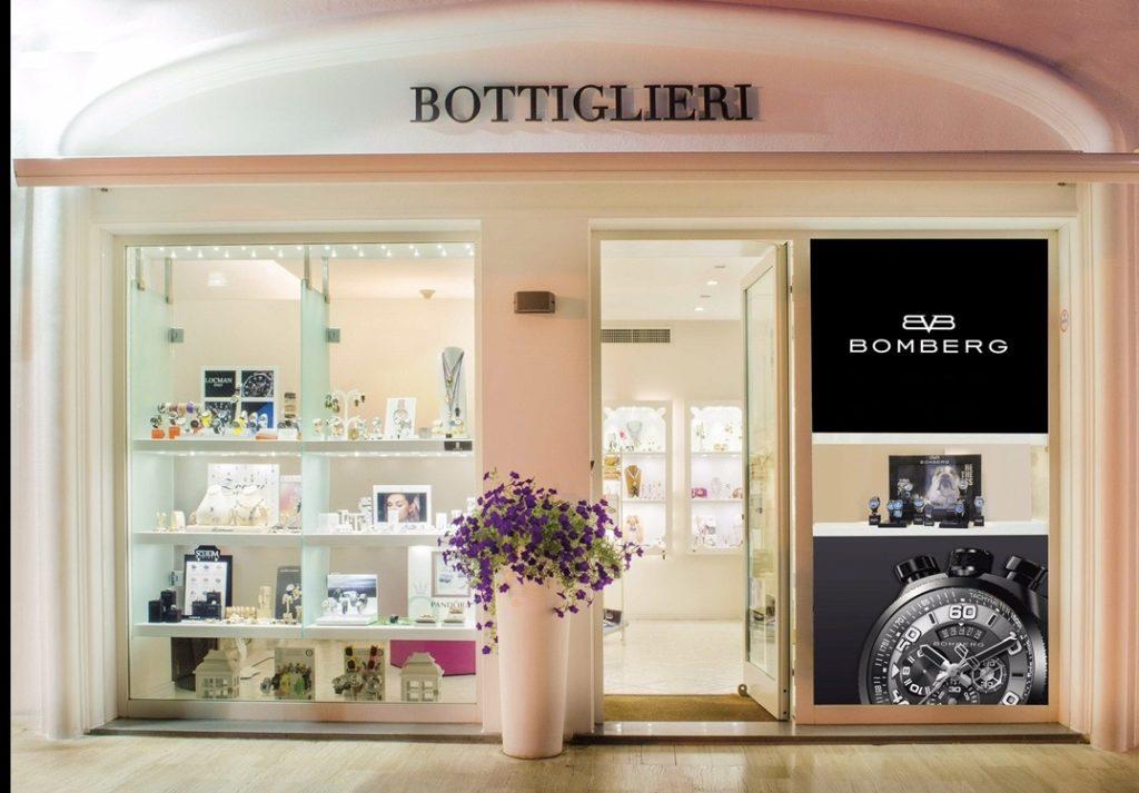 negozio di orologi ad Ischia