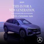 La Nuova EQA Mercedes presentata da Selezione Auto
