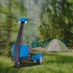 Scooter elettrici per campeggio e attività all'aria aperta
